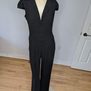 Black Halo - one piece pant jumpsuit